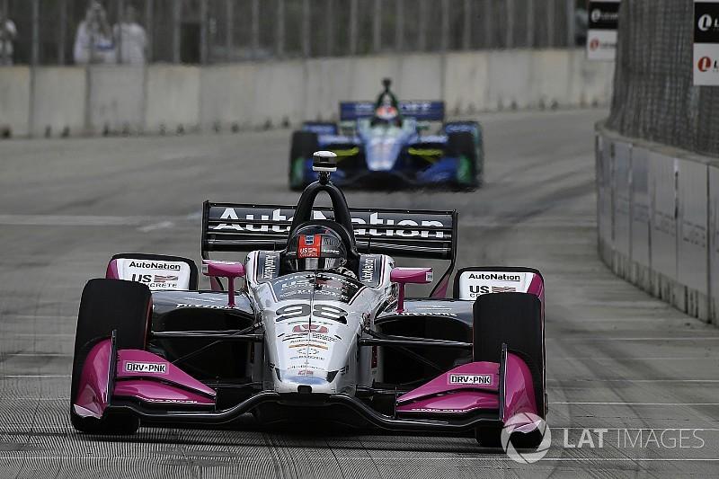 Marco Andretti si prende la pole per Gara 1 a Detroit