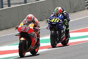 """Sans chute, le podium était """"possible"""" pour Márquez"""