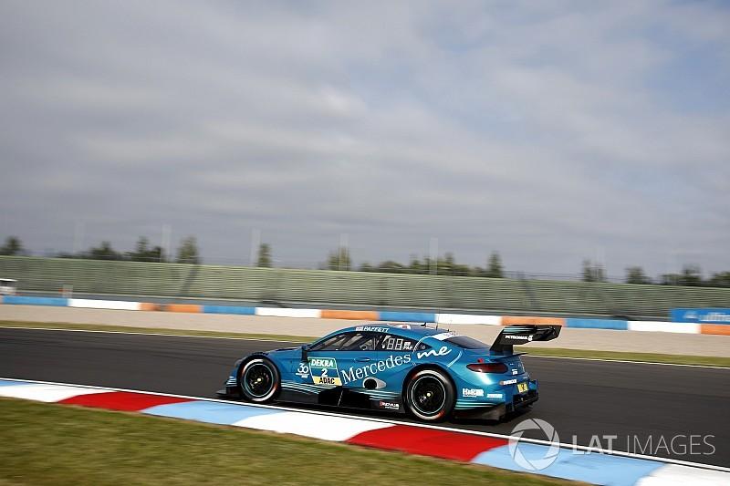 Паффет стал сильнейшим в воскресной гонке DTM на «Лаузицринге»