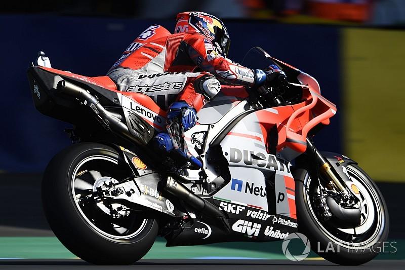 MotoGPフランス初日:マルケス&ドヴィツィオーゾがトップ2を分け合う