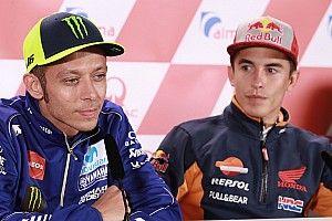 """Rossi: """"No creo que Márquez vaya a ser nuestro mayor problema aquí"""""""
