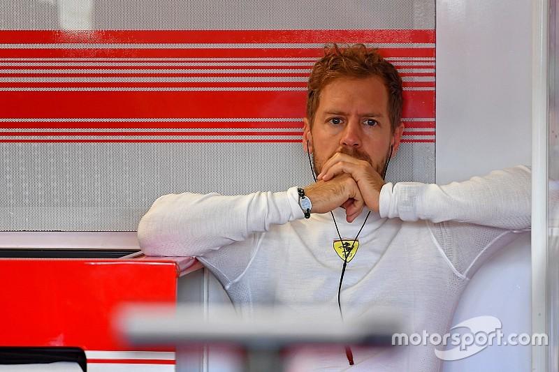 Vettel n'était pas sûr de faire les qualifs