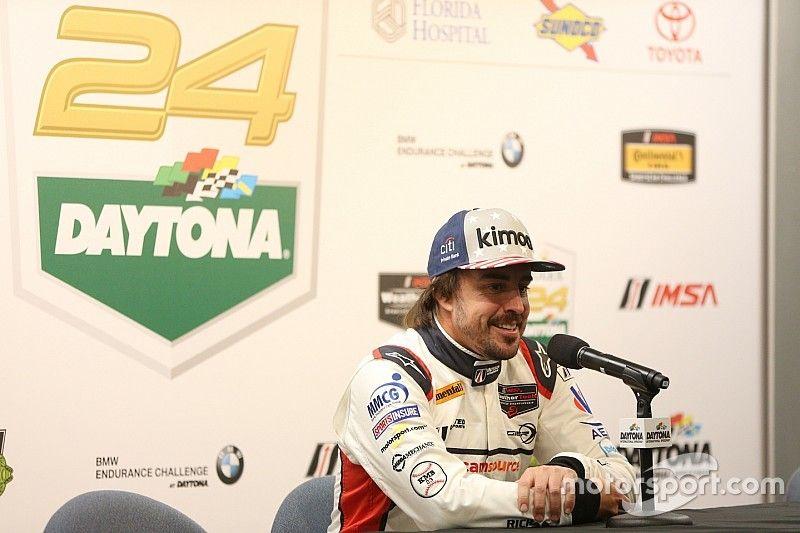 Oficial: Alonso volverá a las 24 Horas de Daytona con Cadillac