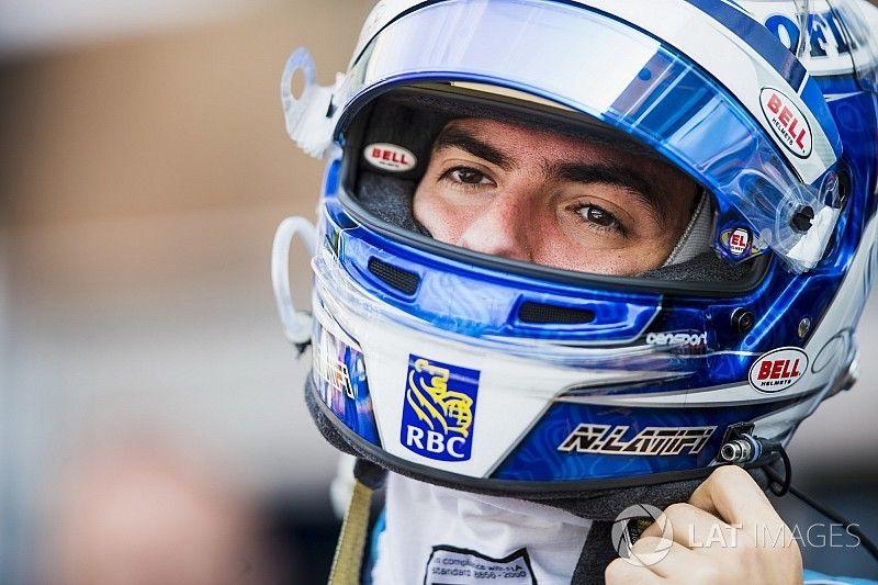 Nicholas Latifi scores valuable points in France