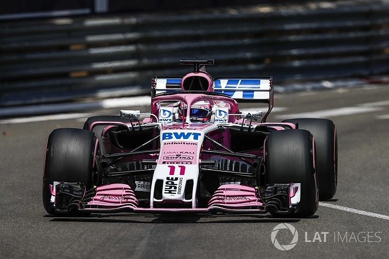 Force India set to race new front wing