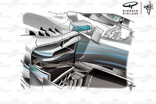 Tech: De veranderingen van Mercedes voor Monaco