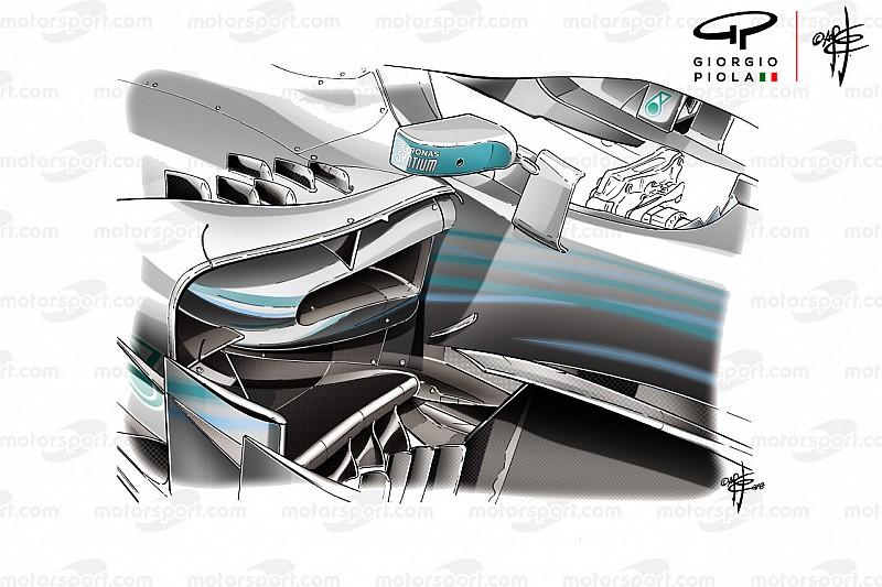 Mercedes'e Monaco'da yardımcı olan değişiklikler