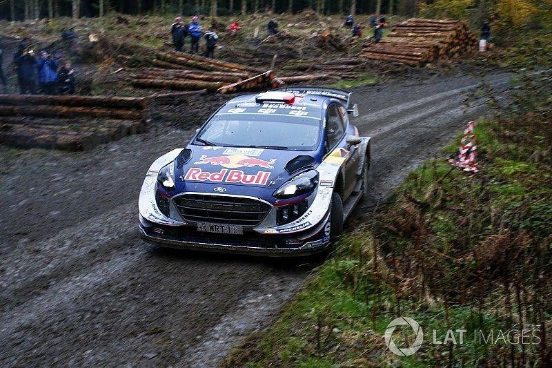 Wales WRC: Ogier takes early lead ahead of Latvala