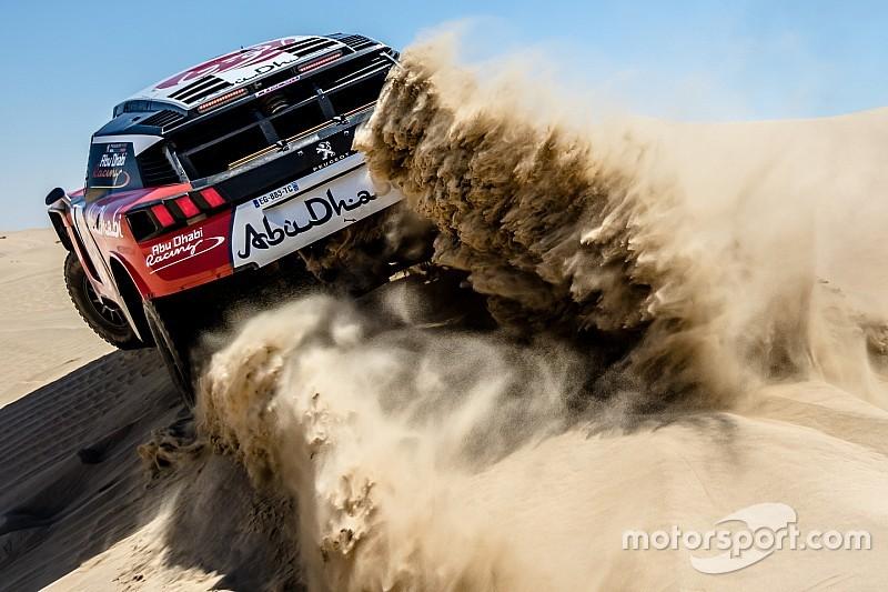 رالي أبوظبي الصحراوي: خالد القاسمي يحتلّ المركز الرابع مع نهاية المرحلة الأولى
