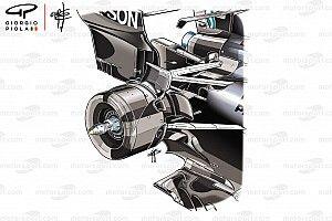Analisi Mercedes: quanto è alto il bracket della sospensione posteriore!