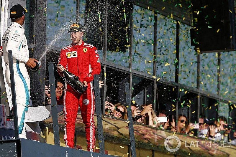 Australian GP statistics: Vettel joins the '100 podiums club'