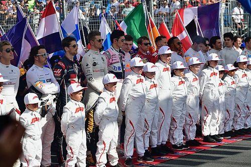Az F1-es rajtrács Ausztráliában, rajtrácslányok nélkül