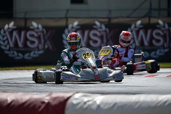 Kart Crónica de Carrera Vidales acaba segundo en la última cita de la WSK Super Master Series
