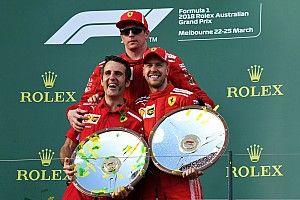 """El presidente de Ferrari celebra: """"no podía ser mejor"""""""