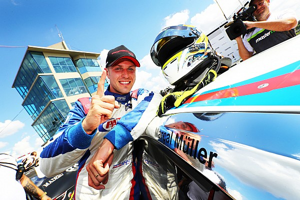 Porsche Últimas notícias Marçal Müller sai de Curitiba líder da Porsche Carrera Cup