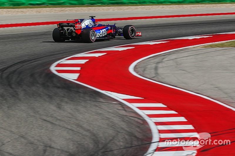 ハートレー、F1デビュー1周年。COTAの「セクター1は首が取れそう……」