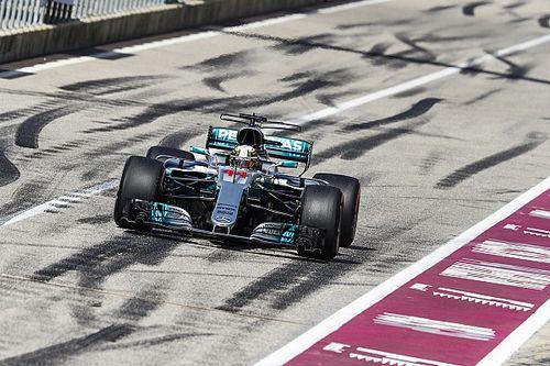 United States GP: Hamilton completes practice sweep
