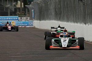 Ook tweede Pro Mazda-race prooi voor Van Kalmthout