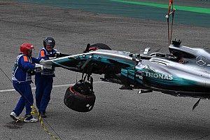 Hamilton, yarışa pit alanından başlayacak!