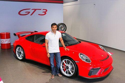 Karthikeyan buys new Porsche 911 GT3