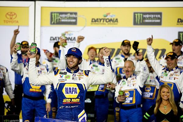 Daytona 500: Chase Elliott takes win in second Duel race