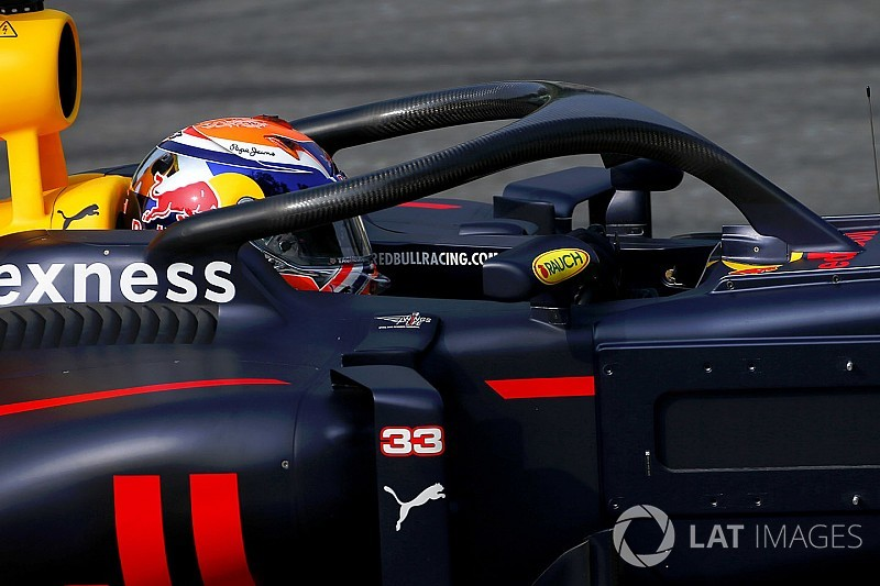 "Verstappen teme un Halo ""horrible"" en el Red Bull 2018"