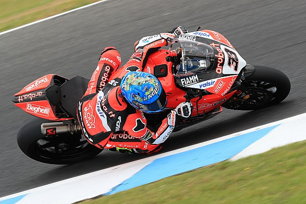 World Superbike Testing report Melandri fastest, Rea crashes on first Phillip Island test day