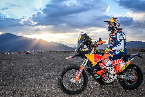 GALERÍA: el ganador de motos Matthias Walkner en el Dakar