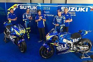 Suzuki presenteert MotoGP-machine voor seizoen 2018