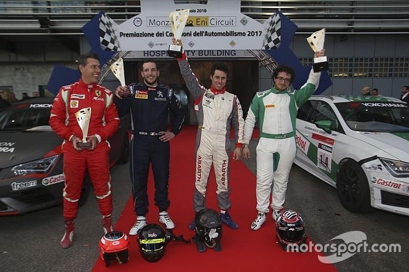 """Vittoria di Andolfi nella sfida """"Campione dell'Anno"""" a Monza"""