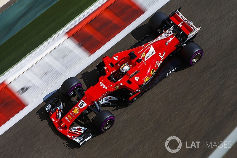 Vettel, Hamilton en Verstappen dicht bij elkaar in eerste training Abu Dhabi