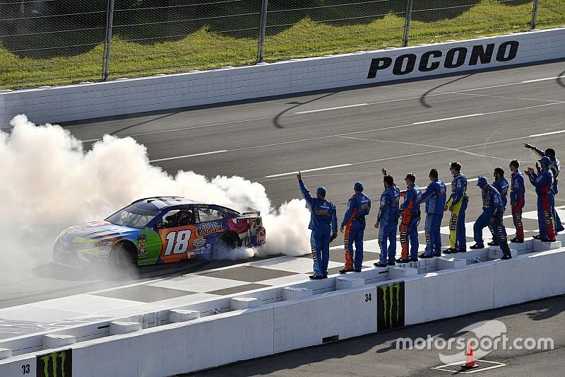 NASCAR: Kyle Busch bei Gibbs-Show in Pocono voran