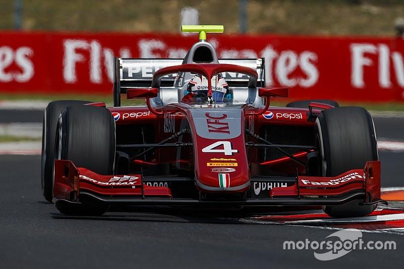 Де Врис выиграл насыщенную гонку Ф2 на «Хунгароринге»