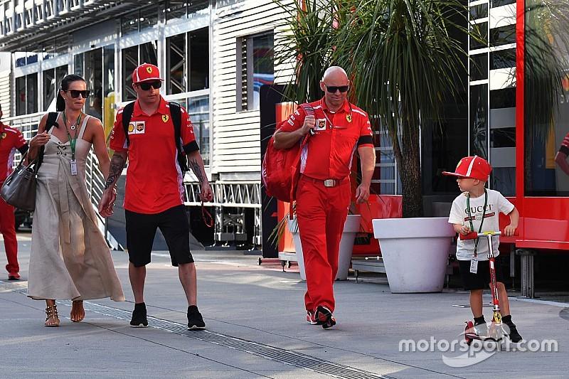 """Räikkönen, a gondoskodó családapa: """"Robin az új legjobb barátom"""""""