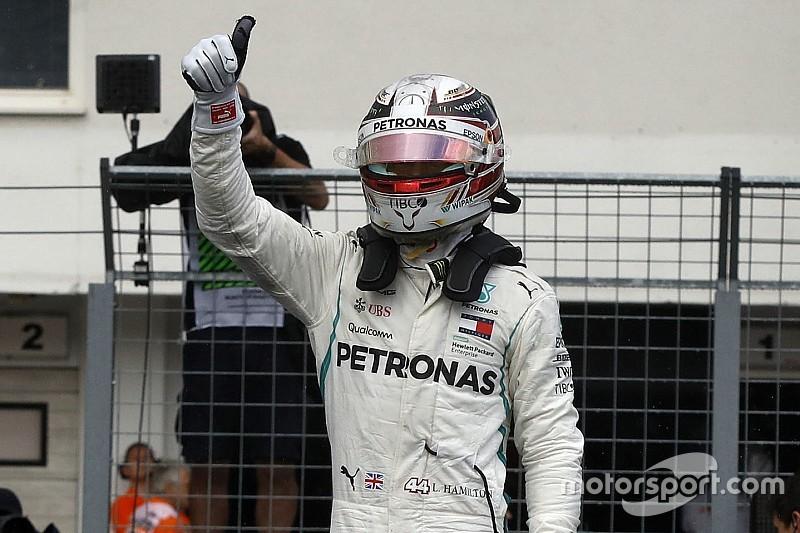 Hamilton: olyan volt, mintha balettoztunk volna a Hungaroringen