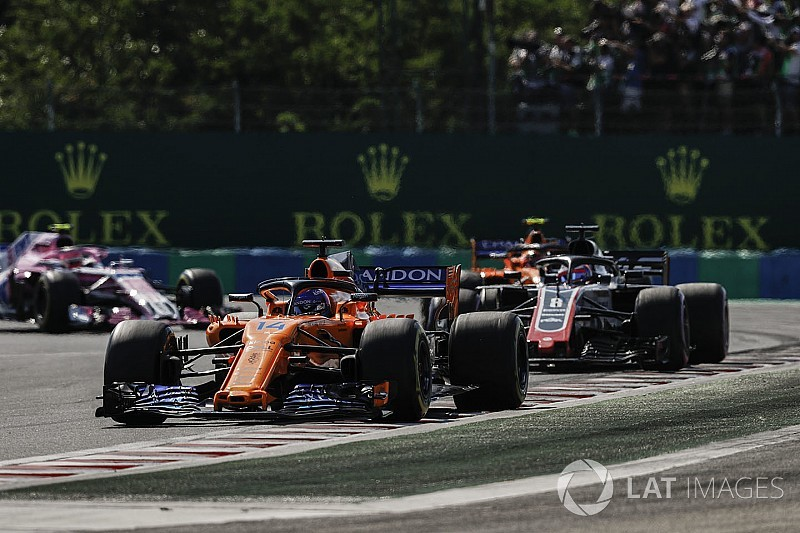 Alonso concedes Grosjean did better job at VSC restart