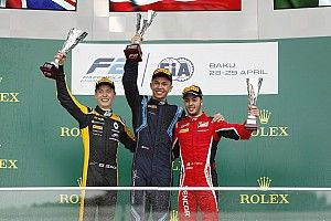 F2 Baku: Albon kuasai feature race, Gelael P10