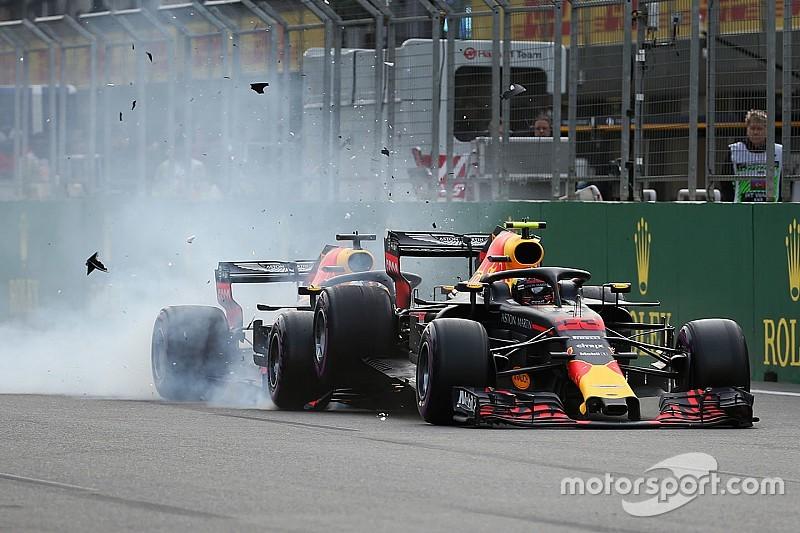 Verstappen és Ricciardo nagy csattanása és drámája Bakuból: ez kemény volt (VIDEÓ)
