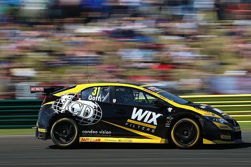 Snetterton BTCC: Goff leads all-Honda top four in qualifying