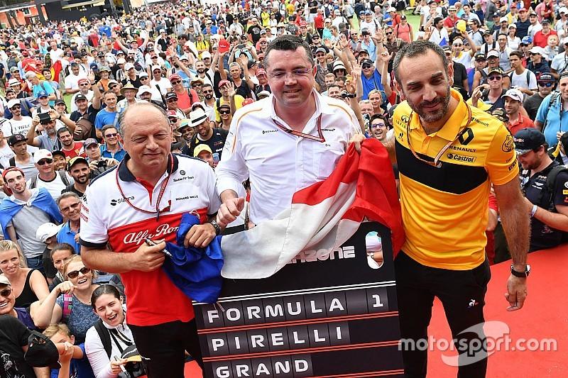 Abiteboul: Mercedes ve Ferrari'yle aynı hızda gelişiyoruz fakat bu yeterli değil