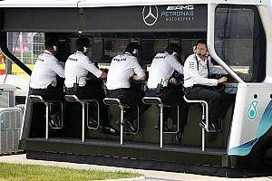 Mercedes annonce une réorganisation technique de son écurie