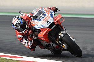 EL2 - Lorenzo surgit en 1re position, Márquez et Rossi hors du top 10