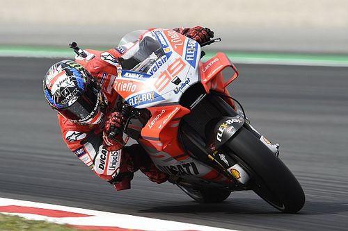 FP2 MotoGP Catalunya: Lorenzo posisi teratas, Marquez terjatuh