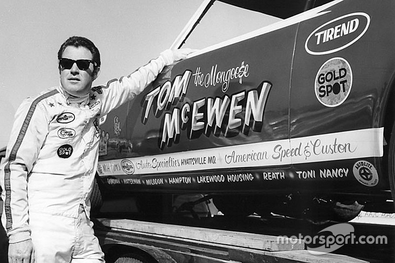 "NHRA legend Tom ""the Mongoose"" McEwen dies aged 81"