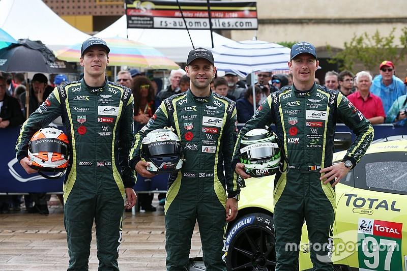 Aston Martin change son line-up