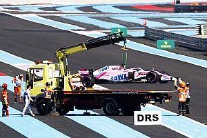 Force India recibió una dura sanción por la rueda perdida de Pérez