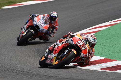 Marquez heran dengan Dovizioso akhir-akhir ini