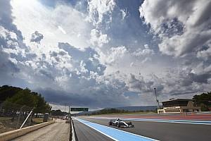 Weersverwachting voor de Grand Prix van Frankrijk