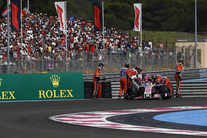 Force India: Idén nehéz a Renault-val tartani a lépést