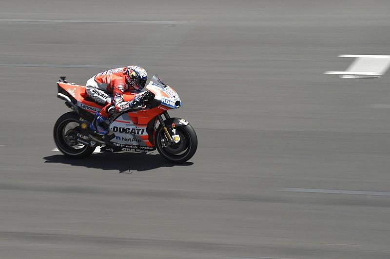 MotoGP Barcelona: Isınma turlarında Dovizioso lider
